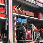Łódzkie: Pożar hali, w której produkowano płyty wiórowe