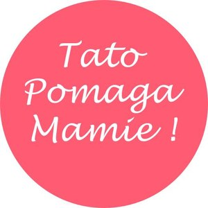 """Logo akcji """"Tato pomaga mamie"""" /BeMam"""
