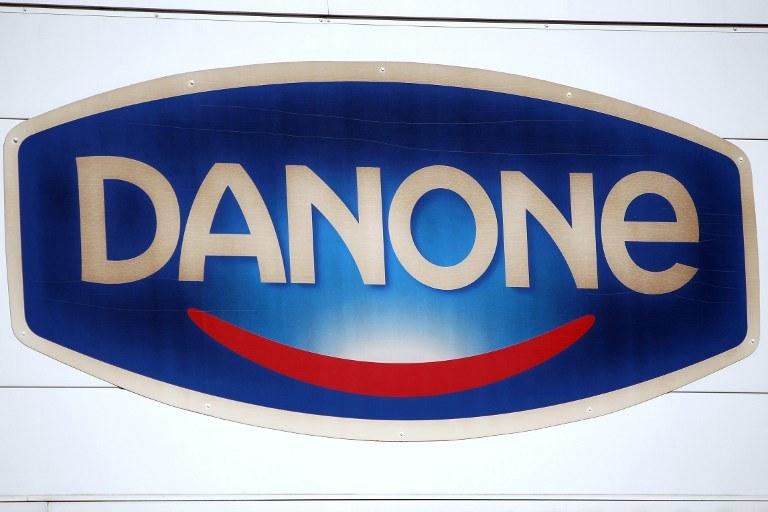 Logo firmy Danone /AFP