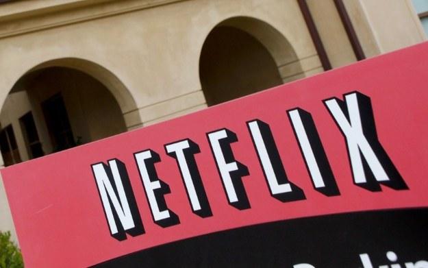 Logo firmy Netflix /AFP