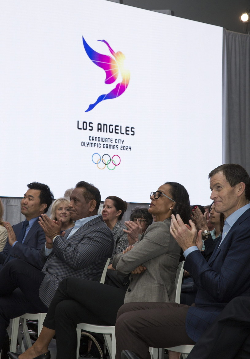 Logo Los Angeles 2024 /PAP/EPA