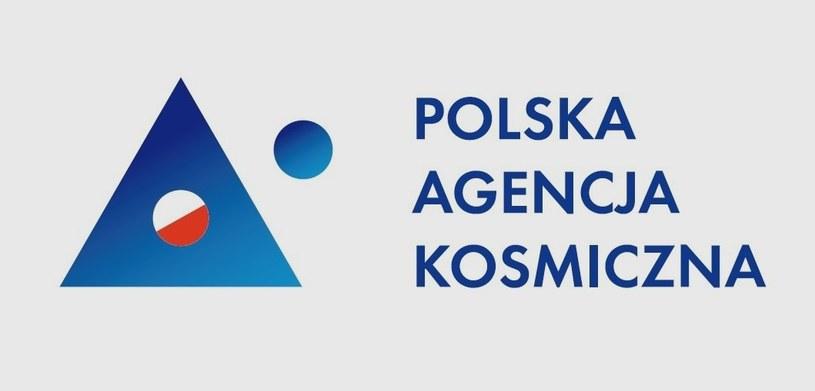 Logo Polskiej Agencji Kosmicznej /materiały prasowe