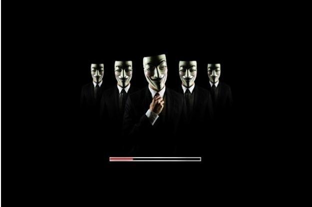 Logo startowe Anonymous-OS wygląda naprawdę schludnie /materiały prasowe