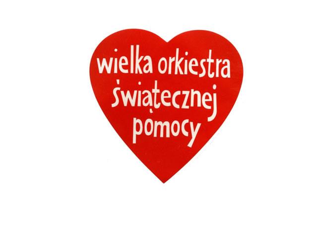 Logo WOŚP /Wojtek Laski /East News