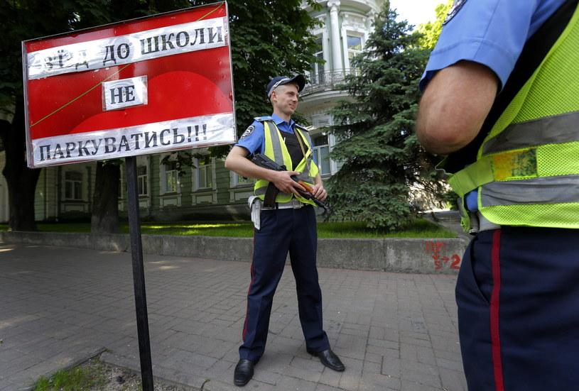 Lokal wyborczy w Kijowie /PAP/EPA
