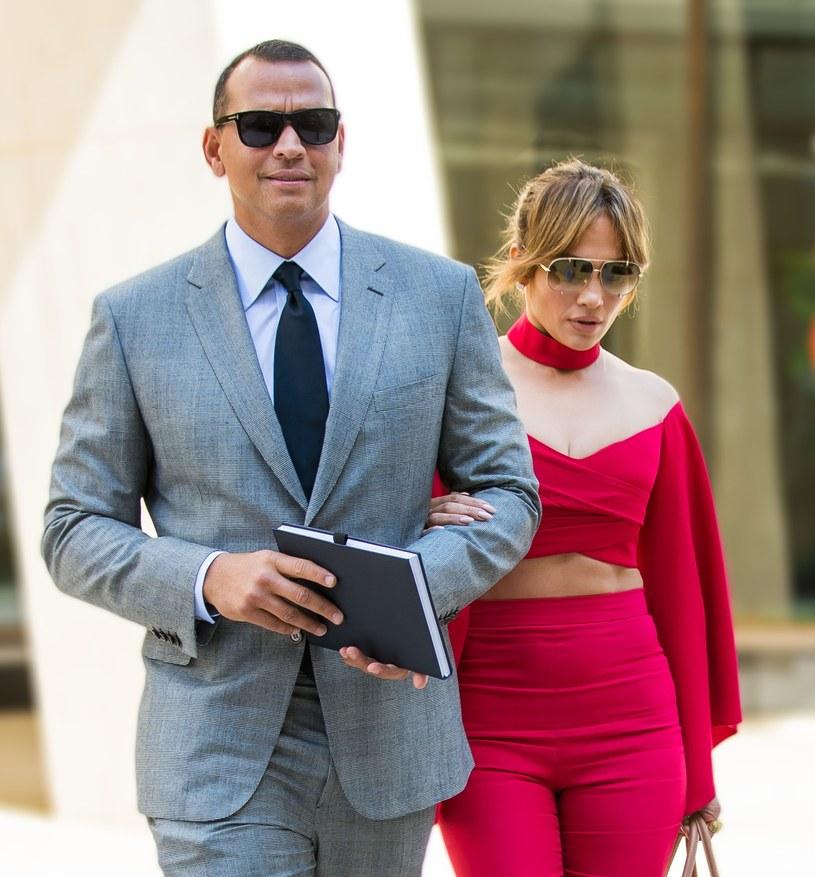 Lopez i Rodriguez ponoć rozważają ślub /Splash News /East News