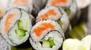 Łososiowe sushi maki