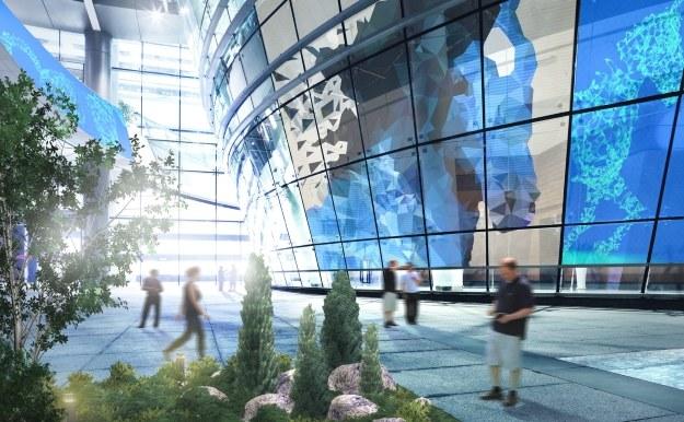 Lotniska przyszłości w 2014 roku? /materiały prasowe