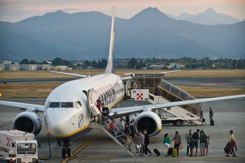 Lotnisko Milan Bergamo, zdj. ilustracyjne /Szymon Blik/Reporter /East News