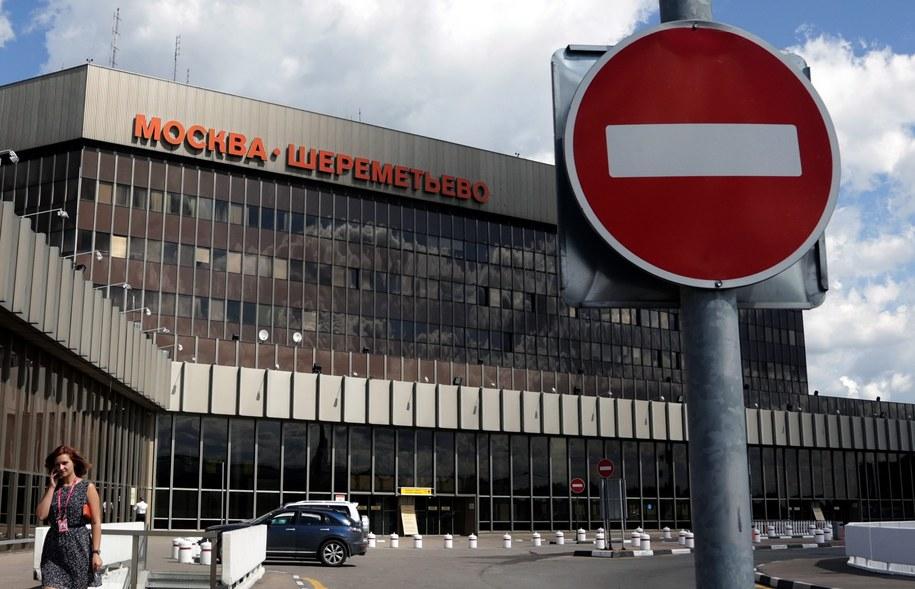 Lotnisko Szeremietiewo w Moskwie /MAXIM SHIPENKOV    /PAP/EPA