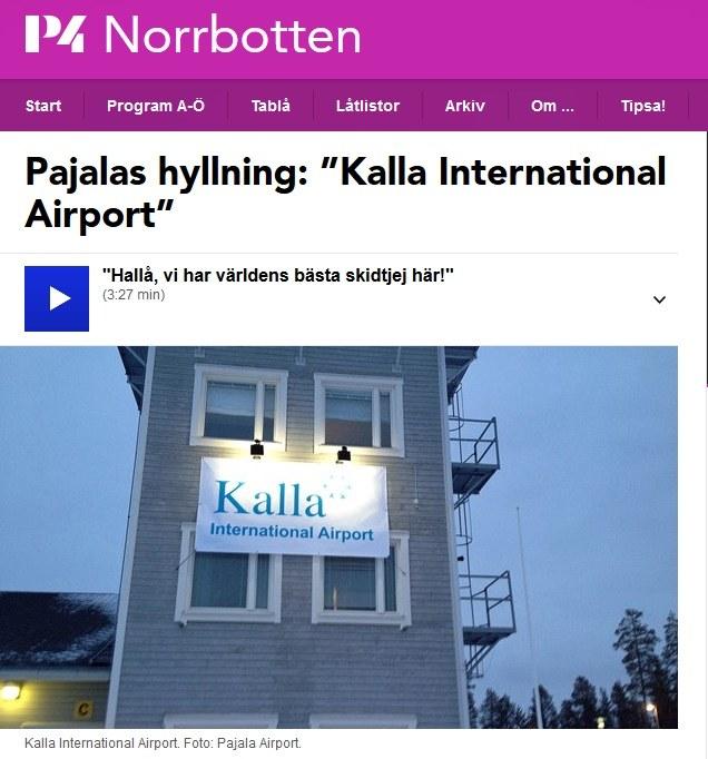 Lotnisko w Pajali zostało nazwane imieniem Charlotte Kalli /INTERIA.PL
