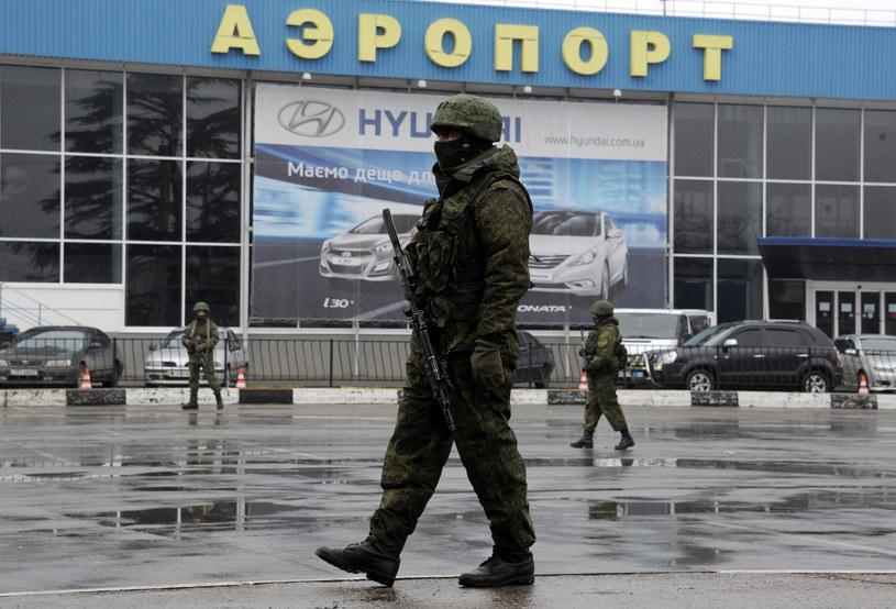 Lotnisko w Symferopolu tymczasowo zamknięte /AFP