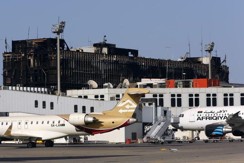 Lotnisko w Trypolisie, zdj. ilustracyjne /AFP