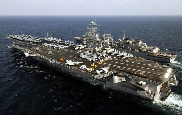 Lotniskowiec USS Harry S. Truman /AFP