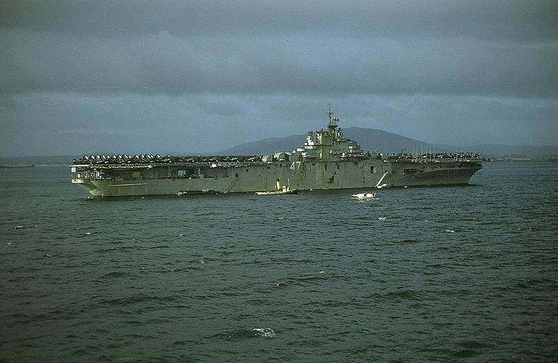 Lotniskowiec USS Philippines Sea po wymianie załogi został natychmiast wysłany na Morze Śródziemne /materiały prasowe