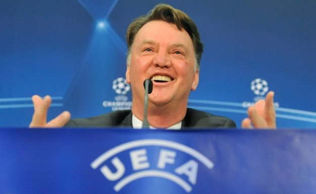 Louis van Gaal, trener Bayernu /AFP