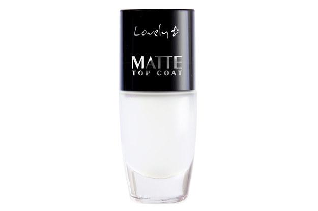 Lovely Matte Top Coat /Styl.pl/materiały prasowe