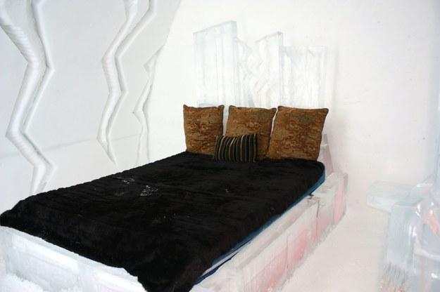 Łóżka też są z lodu /123/RF PICSEL