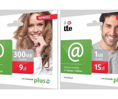 LTE na kartę w Plusie