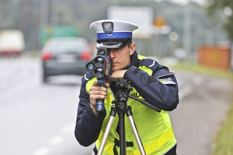 LTI 20/20 TruCam już występuje w polskiej policji /Piotr Jędzura /Reporter