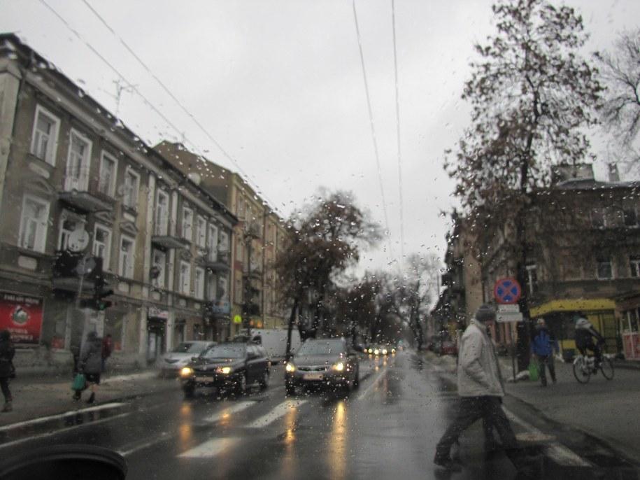 Lublin w deszczu /Krzysztof Kot /RMF FM