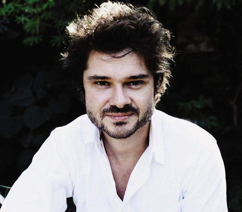 """Luca Dotti - autor książki """"Audrey w domu"""" /Jasmine Bertusi /Wydawnictwo Literackie"""