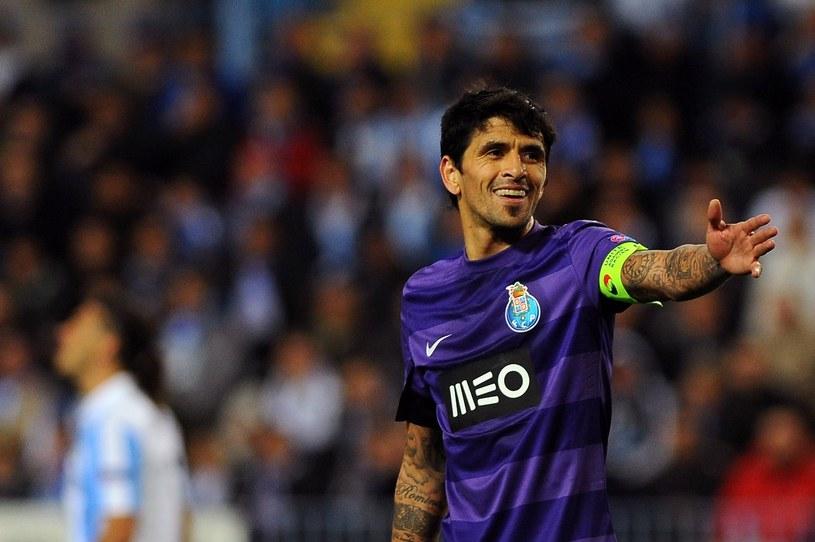 Lucho Gonzalez w barwach FC Porto /JORGE GUERRERO /East News