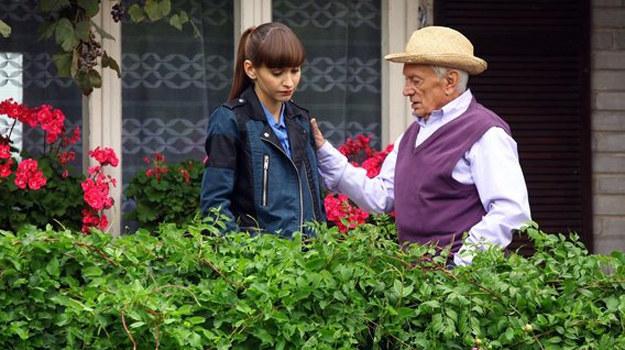 Lucjan powie Jance, że dom w Grabinie zawsze będzie na nią czekał. /MTL Maxfilm