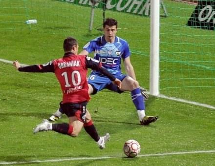 Ludovic Obraniak jest gwiazdą Lille. /AFP