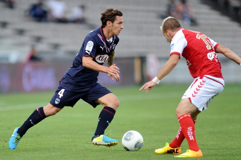 Ludovic Obraniak, pomocnik Girondins Bordeaux /AFP