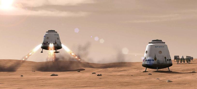 Ludzkość wyląduje na Marsie w okolicach 2025 r. /materiały prasowe