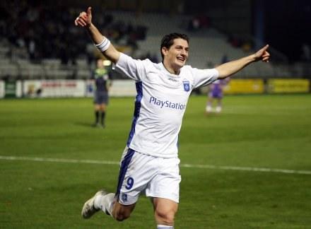 Luigi Pieroni zapewnił Auxerre trzy punkty w meczu z Toulouse /AFP