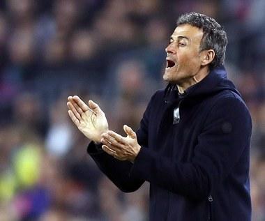 Luis Enrique stanął w obronie piłkarzy Barcelony. Wideo