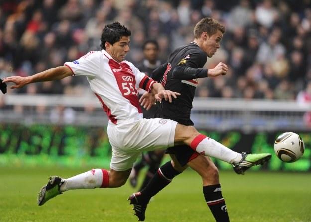 Luis Suarez to najcenniejszy skarb Ajaksu Amsterdam /AFP
