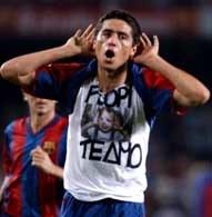Luis Van Gaal zapewnia, że Riquelme będzie nową gwiazdą Primera Division