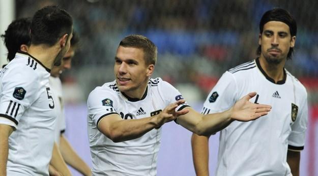 Lukas Podolski, gwiazda reprezentacji Niemiec /AFP