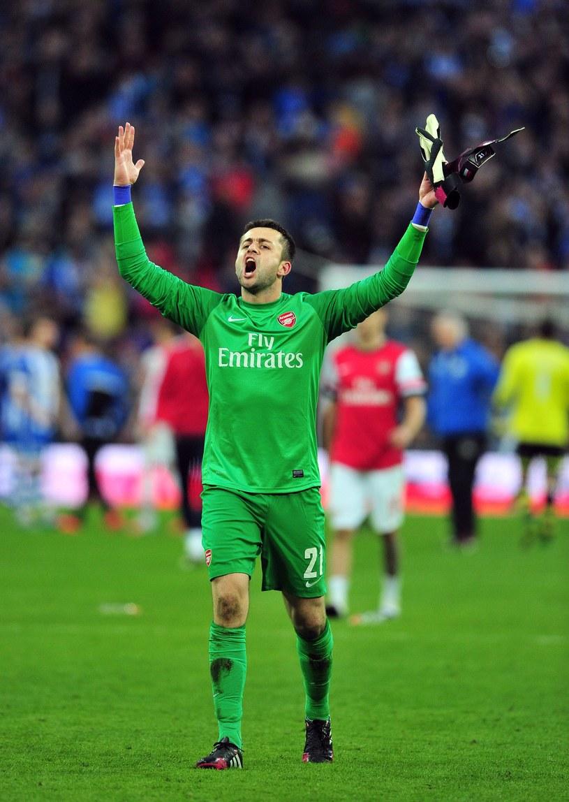 Łukasz Fabiański, bramkarz Arsenalu Londyn /AFP