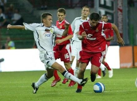 Łukasz Garguła i Mauro Cantoro,FOT.Kamil Jóźwiak /Agencja Przegląd Sportowy