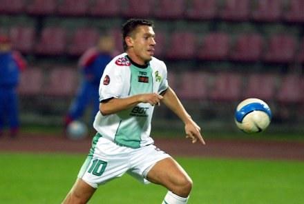 Łukasz Garguła zdobył dwa gole w meczu z Zagłębiem Fot. Wojciech Łysko /Agencja Przegląd Sportowy