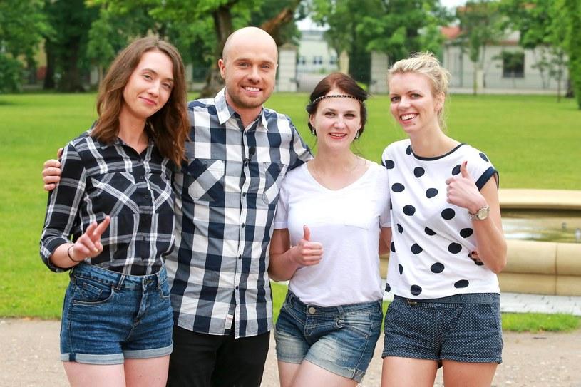 Łukasz i trzy kandydatki na jego żonę - Patrycja, Agnieszka i Ania, fot. z oficjalnego profilu programu /Facebook
