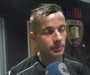 Łukasz Kosakiewicz po meczu z Piastem (0-2). Wideo