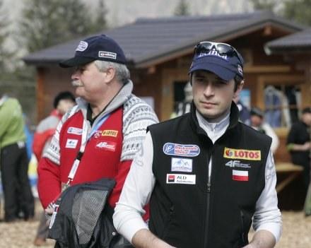 Łukasz Kruczek ma mocne poparcie prezesa Tajnera, Fot. Jerzy Kleszcz. /Agencja Przegląd Sportowy