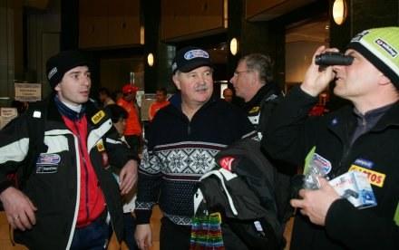 Łukasz Kruczek (z lewej) i Apoloniusz Tajner (obok), fot: Jerzy Kleszcz /Agencja Przegląd Sportowy