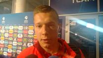 Łukasz Moneta po meczu z Anglią (0-3) - wideo