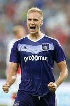 Łukasz Teodorczyk znów strzelił gola dla Anderlechtu