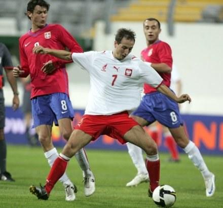 Łukasz Trałka to odkrycie zgrupowania w Turcji / fot. Marek Biczyk /Agencja Przegląd Sportowy