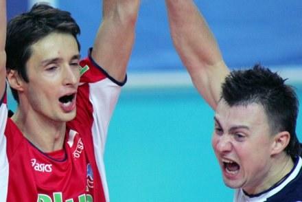 Łukasz Żygadło (z lewej) /AFP