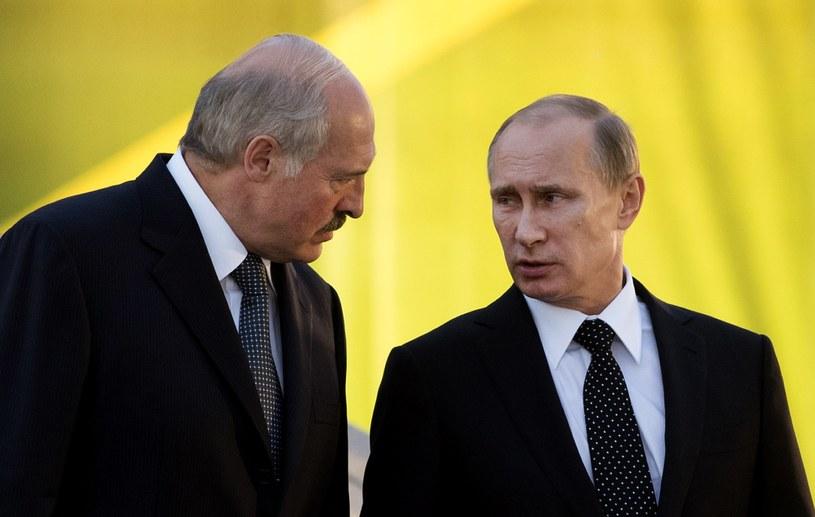 Łukaszenka i Putin /AFP