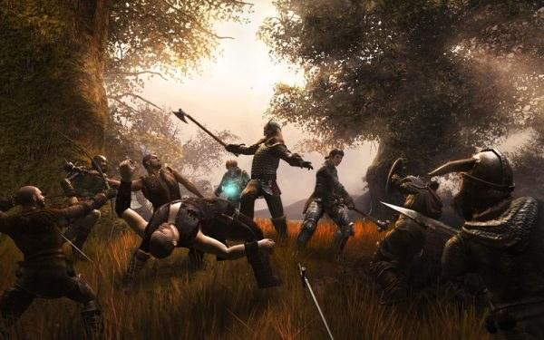 Łuki, topory, miecze, buzdygany - średniowieczna awantura trwa w najlepsze /Informacja prasowa