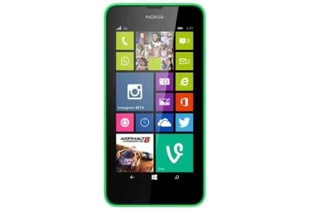 Lumia 635 /materiały prasowe